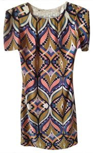 Harlyn short dress Multi Print Retro on Tradesy