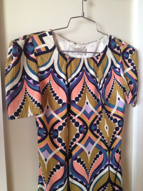 Harlyn short dress Multi Print Print Retro on Tradesy