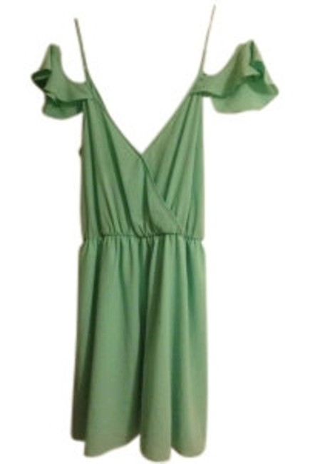 Preload https://img-static.tradesy.com/item/10278/peppermint-mint-off-your-ruffles-night-out-dress-size-8-m-0-0-650-650.jpg