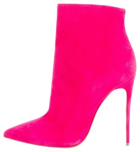 Christian Louboutin So Kate Suede Pointed Toe Pink Boots