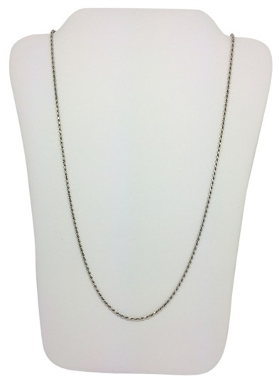 Preload https://item4.tradesy.com/images/14k-white-gold-diamond-cut-rope-chain-22-inches-necklace-10278163-0-1.jpg?width=440&height=440