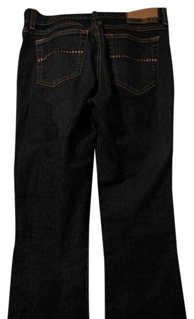 Preload https://item2.tradesy.com/images/glo-jeans-denim-dark-rinse-all-season-long-flare-leg-jeans-size-os-one-size-10279276-0-1.jpg?width=400&height=650