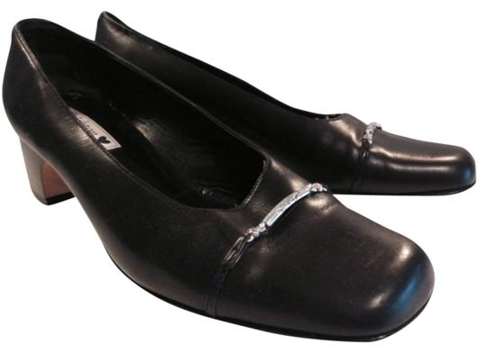 Preload https://img-static.tradesy.com/item/10279507/brighton-black-with-silver-hardware-stylish-leather-signature-pumps-size-us-9-regular-m-b-0-1-540-540.jpg