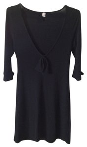 Lux short dress Black Sweater on Tradesy