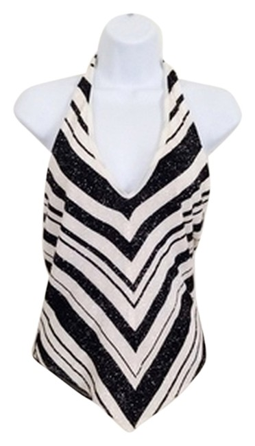 Item - Sparkly Black and White Top