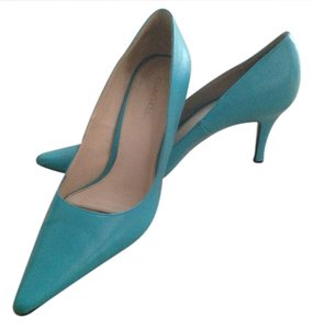 Cabrizi Blue Pumps