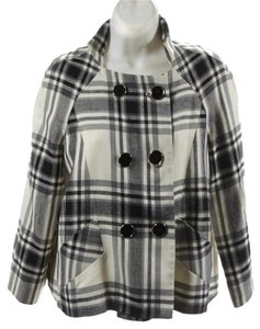 Zara Work Plaid mutli/ plaid Blazer