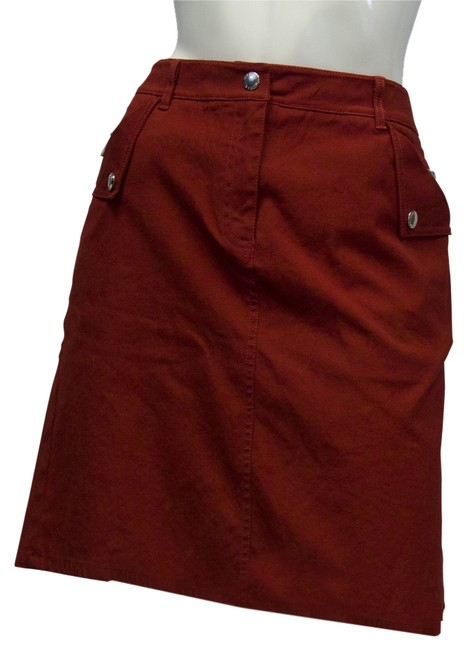 Preload https://img-static.tradesy.com/item/10280575/michael-kors-rust-red-me-miniskirt-size-10-m-31-0-1-650-650.jpg