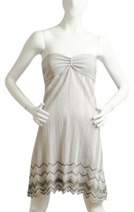 MLH Up The Silver Party Halter Dress