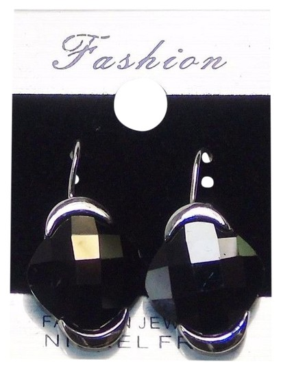 Preload https://item2.tradesy.com/images/black-fashion-drop-silver-tone-with-color-gemstone-earrings-10280791-0-1.jpg?width=440&height=440