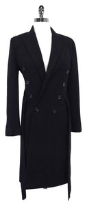 Dolce&Gabbana Black Wool Coat