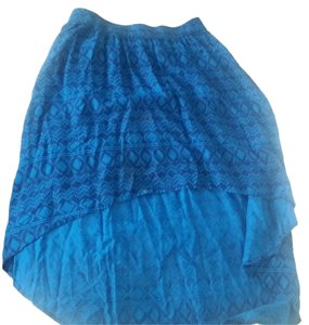 Mossimo Supply Co. Mini Skirt Blue