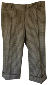 J.Crew Capri/Cropped Pants Navy Multi Check
