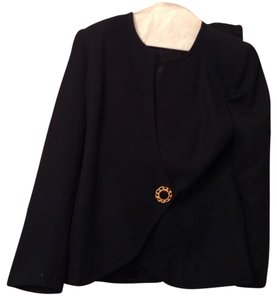 Preston & York And Gold Jacket Gold Buttons Black Blazer