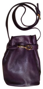 Manolo Blahnik Purse Womens Stand Up Long Strap Cross Body Bag