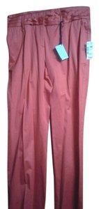 Malo Wide Leg Pants red