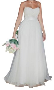 Valena Valentina Handmade french lace wedding dress Dress