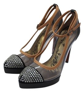 Lanvin Clear, black and brown Pumps