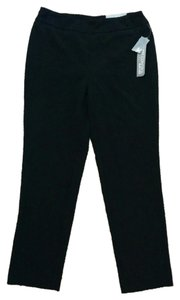 JM Collection Slacks Straight Pants Black