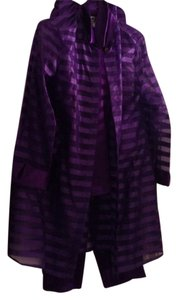 A&G by Amal Guessous Purple - 3 Piece Skirt Suit Set