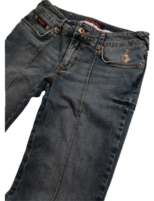 Preload https://item2.tradesy.com/images/baby-phat-medium-wash-unique-straight-leg-jeans-size-32-8-m-10282546-0-1.jpg?width=400&height=650