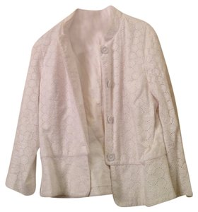 Willi Smith White Lace Skirt Suit Set - 12/10