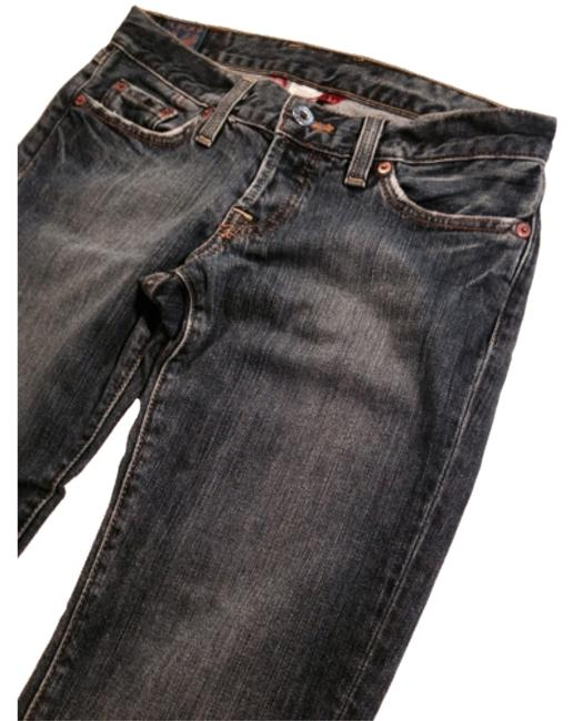 Preload https://img-static.tradesy.com/item/10282957/lucky-brand-medium-wash-lil-maggie-blue-to-dark-light-distress-boot-cut-jeans-size-26-2-xs-0-1-650-650.jpg