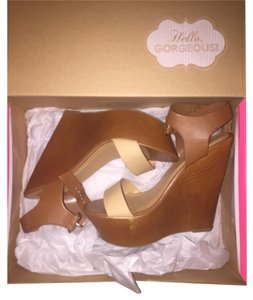 Charlotte Russe Neutral/Nude Wedges