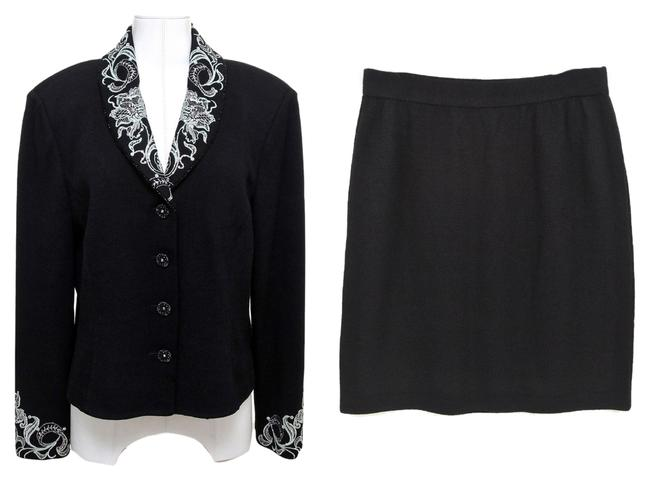 Preload https://item4.tradesy.com/images/st-john-black-2pc-jacket-rhinestone-dress-knit-sweater-10-12-skirt-suit-size-10-m-10283668-0-1.jpg?width=400&height=650