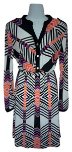NY Collection short dress Multi-color Medium Long Sleeve on Tradesy