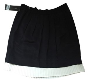 BCBGMAXAZRIA Mini Skirt Black/ivory