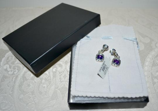 John Hardy John Hardy Batu Kali Amethyst Drop Post Earrings Sterling Silver Image 6