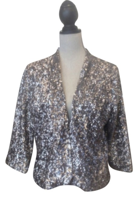 Preload https://item2.tradesy.com/images/apt-9-antique-silver-sequin-party-blazer-size-12-l-10284286-0-1.jpg?width=400&height=650