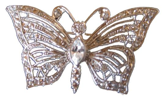 Preload https://item4.tradesy.com/images/rhinestone-butterfly-pin-2-10284358-0-4.jpg?width=440&height=440