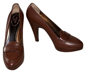 Prada Leather Calzature Donna Bruciato (brown) Pumps