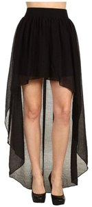 BCBGeneration High-low High-low Maxi Skirt Black