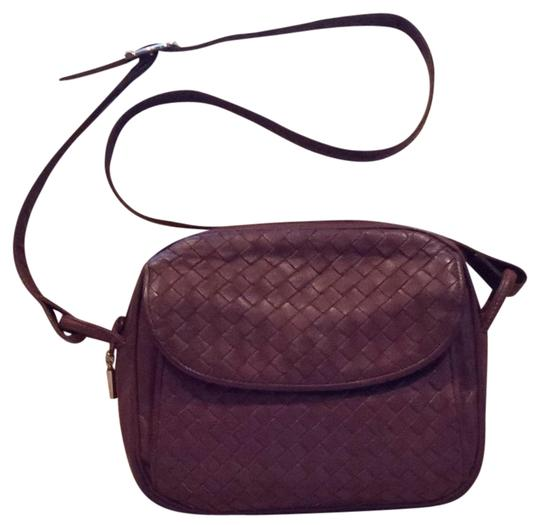 Preload https://item5.tradesy.com/images/woven-camera-grapemulberry-leather-shoulder-bag-10285549-0-1.jpg?width=440&height=440