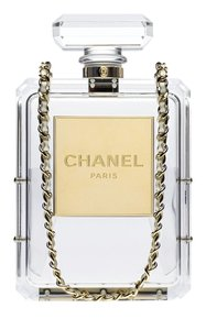 Chanel Lucite Perfume Bottle Shoulder Bag