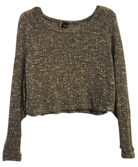 Preload https://img-static.tradesy.com/item/10285591/sparkle-and-fade-green-crop-sweaterpullover-size-4-s-0-1-650-650.jpg