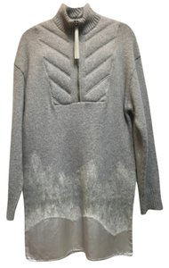 Alexander Wang short dress Gray Wool Sweater on Tradesy