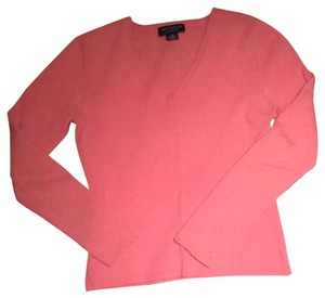 Ann Taylor Cashmere Fall Stylish Girly Classic Bright Soft Sweater