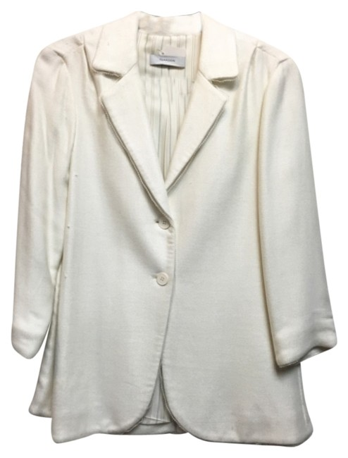 Preload https://item5.tradesy.com/images/thakoon-white-blazer-size-8-m-10285759-0-1.jpg?width=400&height=650