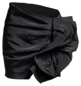 Lanvin for H&M Hm Black Mini Skirt
