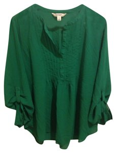 Old Navy Top Emerald Green