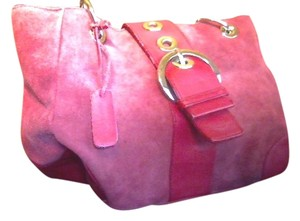 Bath and Body Works Suede Tote in Red