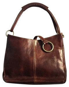 Italian Custom Leather Shoulder Bag