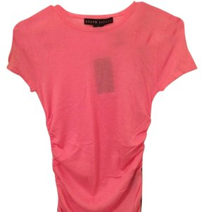 Ralph Lauren Collection Cashmere Blouse Shortsleeve T Shirt pink