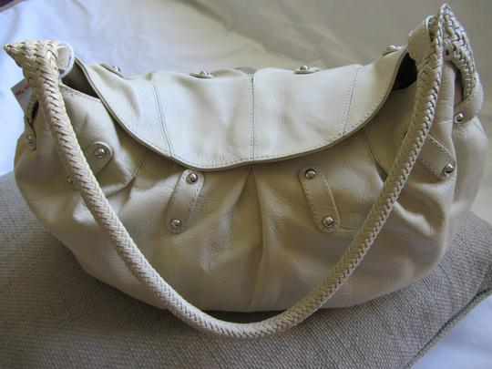 Carlo Dino Satchel in Ivory