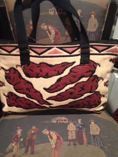Old Elpaso Blanket Co Tote in Multi Color