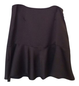 Ralph Lauren Collection Silk Skirt black
